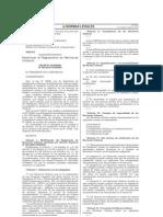 D.S.N 004-2010-VIVIENDA Modifican Reglamento de Revisores Urbanos