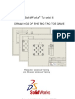 SolidWorks Tutorial06 TicTacToeGame Drawings English 08 LR