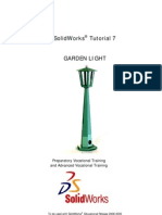 SolidWorks Tutorial07 GardenLight English 08 LR