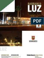 Brochure Barranco Luz