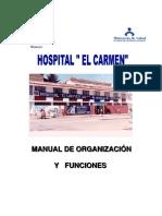 Manual Organizacion Funciones