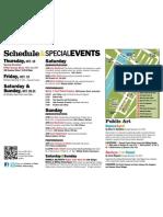 Fort Point Open Studios 2012 ScheduleEvents