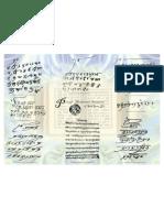 Hand Written Scriptures of Sikh Gurus