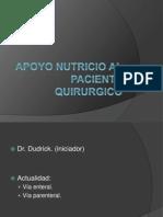 Apoyo Nutricio Al Paciente Quirurgico