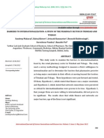 BARRIERS TO INTERNATIONALIZATION–A STUDY OF THE PHARMACY SECTOR IN TRINIDAD AND TOBAGO