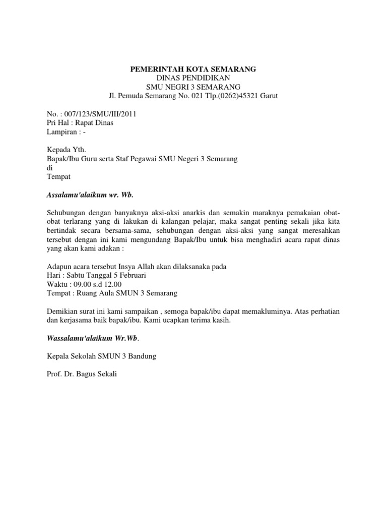 Pemerintah Kota Semarang Assalamualaikum Wr Wb