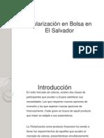 Titularización en Bolsa en El Salvador