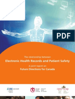EHR-Patient Safety Report