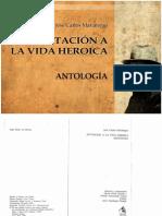 Jose Carlos Mariategui - Invitacion a La Vida Heroica Antologia