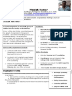 Advanced Resume Sample