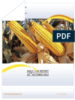 DAILY AGRI REPORT BY EPIC RESEARCH- 20 OCTOBER 2012