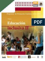 Educación Inclusiva PFC 2010 FINAL