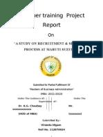 Vineeta Nigam Recrutment & Selection Process Martu