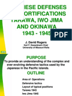 Japanese Defense Fortifications