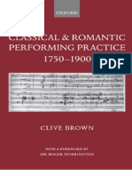 Brown, Clive__Classical & Romantic Performing Practice 1750-1900