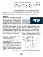 Improved Highly Accurate Torque and Flux DTC Estimator for Induction Motor