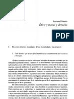 Ética y Moral y Derecho - Gustavo Bueno