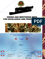 Hiring and Mentoring