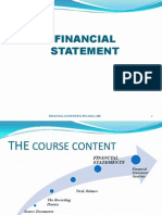 Income Generation-Financial Statement