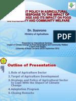 Kebijakan Pertanian Terhadap PI Dan Dampaknya C