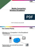 Presentation CTIA WirelessBroadband