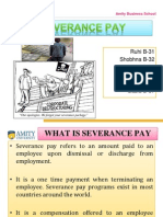 Crm Severance Pay Group 6