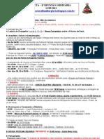 8- OITAVA REUNIÃO - PAUTA - MODELO 2