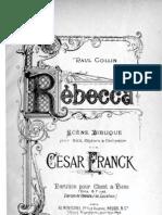 Franck - Rebecca Complet