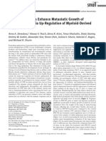 Carbon Nanotubes Enhance Metastatic Growth of Lung Carcinoma via Up-Regulation of Myeloid-Derived Suppressor Cells