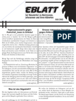 Sägeblatt – anarchistischer Newsletter zu Repression, Solidarität, Gefangenen und ihren Kämpfen - Juli 2012