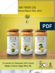 ADF Foods - Annual Report