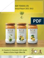 ADF Foods - Annual Report