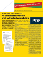 Wftu Bulletin International Action Day for the Release of the Palestinian Political Prisoners 17 April 2012