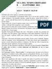 Pagina dei Catechisti - 21 ottobre 2012