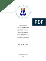 Relatório de Física A Lei de Hooke