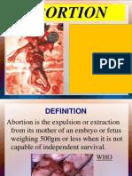 Abortion II Nd Yr MSC Nursing