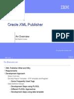 XML Publisher PPT