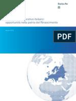 Mercato assicurativo italiano- opportunità nella patria del Rinascimento - SUISSE RE -ago 2012