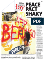 Manila Standard Today -- Sunday (October 21, 2012) issue