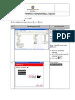 Instalasi Oracle Client