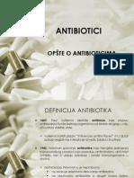 opšte o antibioticima