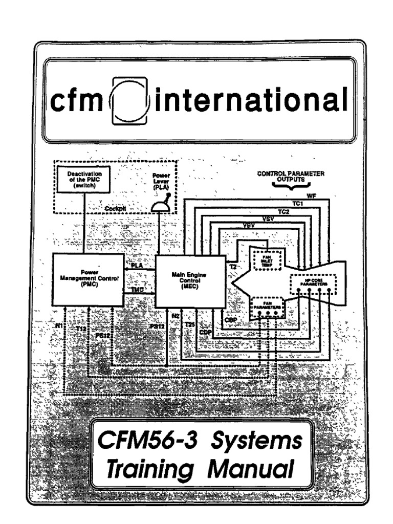 Cfm56 Engine Diagram Wiring Library Space Shuttle 3 Systems Training Manuals Pump Main