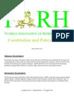 FARH Constitution 2011