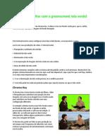 Tela Verde(Greenscreen)