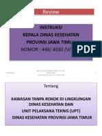 Review Instruksi Kadinkes Ttg Ktr Dan Ktm