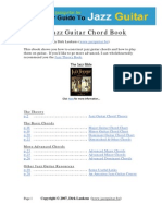 The Jazz Guitar Chord Book