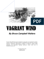 Vagrant Wind Poems by Bruce Campbell Walters
