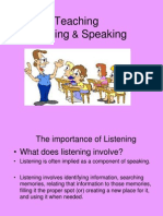 Teaching Listening Speaking