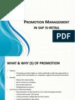 SAP Retail Promotion Mgt JK