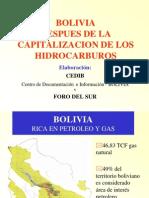Bolivia Despues de La Capitalizacion de HC